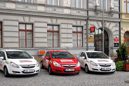 PANEL Pošta Horní náměstí